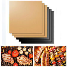 2pcs Easy BBQ Grill Mat Bake NonStick Grilling Mats Barbecue Pad As Seen On TV