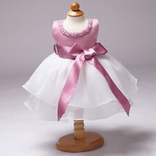 Baby Girl Dress Princess Birthday Wedding Flower Party Formal Tutu Dresses