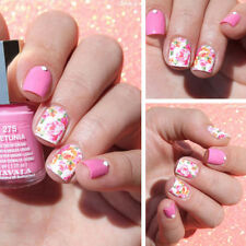 Nail Art Water Decals Transfers Stickers Wraps Pretty Pastel Summer Flowers Set