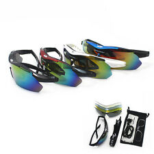 Cycling UV400 Sunglasses Eye wear Outdoor Sport Riding Bicycle Goggles+Pack Box