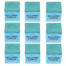 9 Pieces Billiard Chalks Pool Cue Pocket Chalk Durable