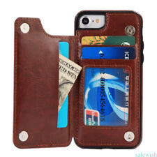 Flip Luxury PU Leather Wallet Card Case Cover for iPhone 6/6S/7plus Holder Pouch