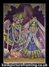 Radha Krishna Photo Picture Framed  In Size - 36 X 25