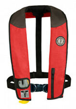 Mustang Survival Deluxe Inflatable Collar PFD with Sailing Harness (Auto-Inflate