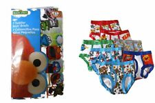 SESAME STREET 7-pack Toddler Boys Briefs Sizes 2T/3T, 4T ELMO AND MORE!!