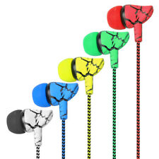 3.5mm Wired Headset Super Bass Sport Earphone Crack Music Headphone with Mic