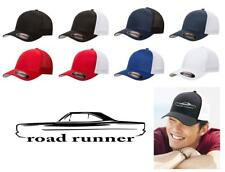 1968 1969 Plymouth Road Runner Hardtop Classic Color Outline Design Hat Cap