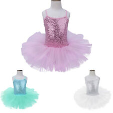 Ballet Girl Dancewear Dance Dress Child Kid Leotard Tutu Gymnastic Skate Costume
