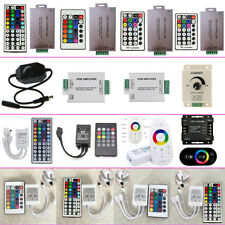 LED Controller Wireless IR RF Amplifiers Dimmer RGB fr 5050 3528 Strip Light 12V