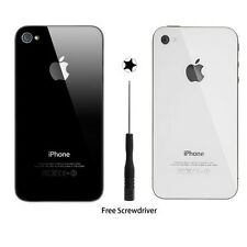 10 Color Replacement Back Glass Rear Panel Battery Cover for Apple iPhone 4 4S