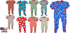Sara's Prints Baby Infant Toddler Boys One Piece Footed Coverall Sleep Pajama