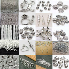 Silver Plated Chains/Hook/Pin/Jump Rings/Lobster Clasp Jewelry Making Tool NEW