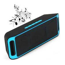 K812 Portable Bluetooth V2.1 Stereo Speaker with Mic FM Radio Handsfree Call