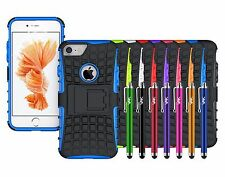iPhone Case Heavy Duty Tough Armour Rugged Hard Shockproof Stand Hybrid Cover