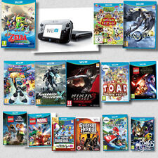 Nintendo Wii U - ASSORTED Wii U Games + Black Console Bundles @ BARGAIN Prices