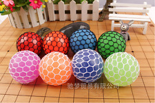 Crystal Squishy Mesh Ball Sensory Toy Fiddle Fidget Stress Sensory Autism ADHD