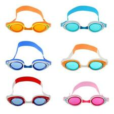 Kids Anti Fog Swimming Goggles Child Adjustable Sun UV Protection Swim Glasses