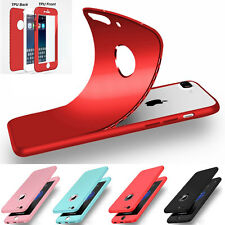 Ultra Thin Slim Hard Case Cover For Apple iPhone 6 6S 7 / Plus Protect Screen