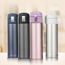 Thermos 500ML Stainless Steel Tea Coffee Water Cup Travel Mug Vacuum Flask Cup