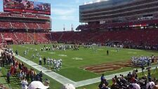 2 San Francisco 49ers vs Arizona Cardinals Tickets 11/5/17 AISLE SEATS!!!!!