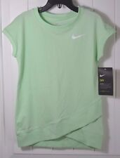 NWT GIRLS KIDS NIKE DRI FIT FRESH MINT SHORT SLEEVE ACTIVE T SHIRT SZ 4T, 6X