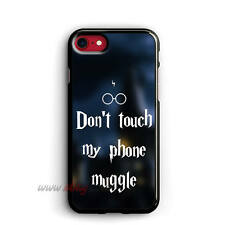 Dont touch my phone Muggle iphone Cases Samsung Galaxy Phone Case ipod cover