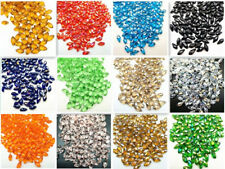20-100PCS 6x12mm Faceted Teardrop Pendant Earring Finding Loose Spacer Beads