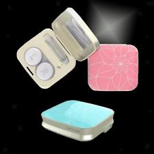USB Electric Metal Travel Contact Lenses Cleaner Box Automatic Cleaning Case