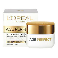 New L'Oreal AGE PERFECT RE HYDRATING DAY CREAM,MATURE SKIN 50M ANTI SAGGING