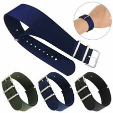 Military Nylon Fabric Sport Divers Replacement Watch Strap Band Bracelet 22mm