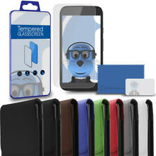 PU Vertical Belt Pouch & Glass Screen Guard for Samsung i9300 Galaxy S3 III