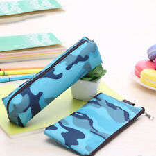Camouflage Pen Bag Pencil Case Pouch Stationery Cosmetic Makeup Bag Kids Gifts