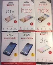 NEW Zagg Invisible Shield Full Body Screen Protector Samsung Galaxy S6/S7/Note5!