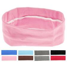 Womens Mens Elastic Headband Sweatband Sports Football Yoga Hairband Hair Rope