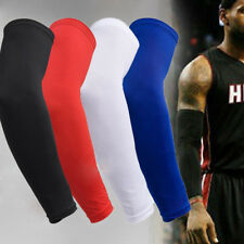 1pc Elastic Sports Arm Long Sleeve Guard Protector Gear Basketball Elbow Pads
