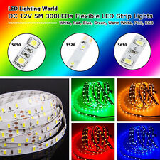 5M SMD 3528 LED Strip Lights 5630 LED Strip Lamp 5050 Flexible LED Lights Strip