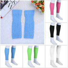 Pair Calf Sleeve Wraps Leg Support Sports Gym Shin Compression Tight Brace Socks