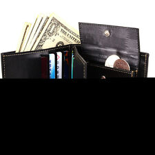 Chic Men PU Leather Bifold Wallet ID Window Credit Card Coin Holder Pocket Purse