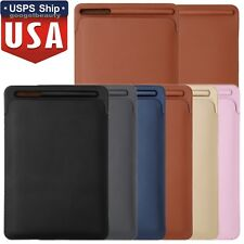 """PU Leather Sleeve Case Cover Pouch Bag For Apple iPad Pro 12.9"""" & Pencil 2017"""