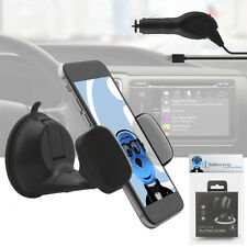 Suction Car Holder And Car Charger For BlackBerry 8520 Curve, 9300 3G