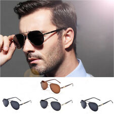 Women/Men Polarized Aviator Designer Sunglasses Metal Frame Retro Eyewear CHR