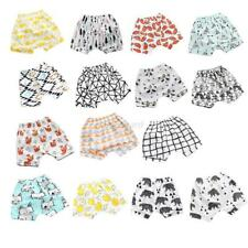 Baby Boys Girls Printed Elastic Harem Pants Toddler Shorts Trousers Clothes AU
