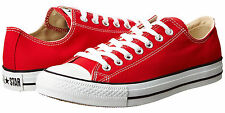Converse Chuck Taylor All Star OX Low Tops Red All Sizes Mens Sneakers Shoes