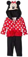 Disney Baby Girls Minnie Coverall (Red)
