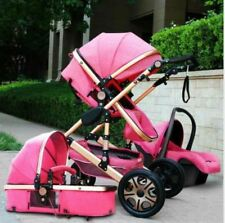 Baby Stroller 3 in 1 Car Seat Folding Baby Carriage Newborn Child Travel System