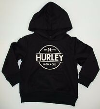 Hurley Toddler Boys Hoodie Jacket Sweatshirt Black 2T-4T MSRP $52.00