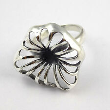 1 Pcs Beautiful Fancy Style 925 Sterling Silver High Polished Black Oxidize Ring