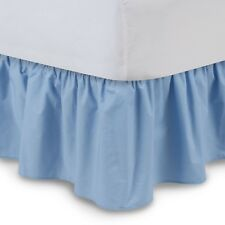 Harmony Lane Ruffled Bed Skirt, Complete Dust Ruffle FAST FREE SHIPPING IN USA
