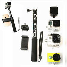 Extendable Telescopic Monopod Selfie Pole Stick for GoPro Hero 5 4 3+ 3 2 SJ4000