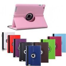 360° Rotating Smart Stand Leather Case Cover For Apple iPad5(AIR1), iPad6(AIR2)